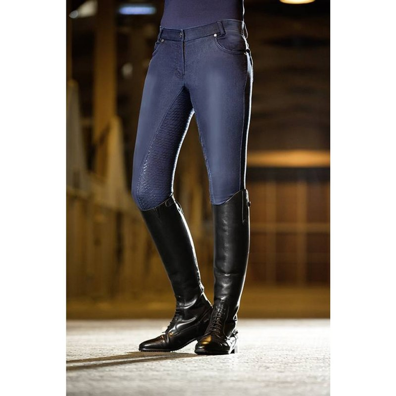 Reithose -Hickstead Jeggings- Silikon-Vollbesatz