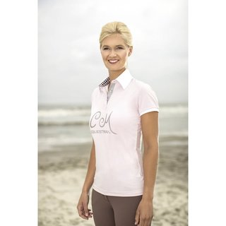 Damen Poloshirt -Soft Powder-