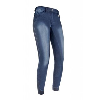 Reithose-Jeggings-Flower Crystal- 3/4 Alos
